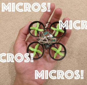 Choosing parts for a micro quadcopter