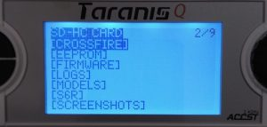 How to set up TBS Crossfire Micro on Taranis(QX 7 and X9D)